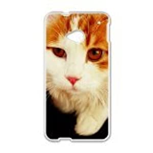 Malcolm Cat Phone Case for HTC One M7 case