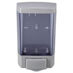 * Plastic Soap Dispenser, 46Oz, 5 1/2W X 4 1/4D X 8 1/2H, Trans Gray, 12/Carton