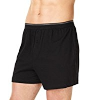 3 Pack XXXL Cool & Fresh™ Pure Cotton Assorted Boxers with StayNEW™