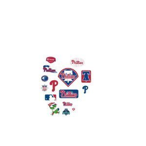 MLB Philadelphia Phillies Team Logo Assortment Fathead Jr. Wall Decal at Amazon.com