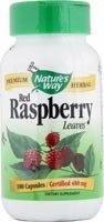 Nature'S Way - Red Raspberry Leaves, 480 Mg, 100 Capsules