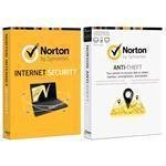 SYMANTEC 21282425 NORTON INTERNET SECURITY 2013 IN 1 User/NORTON ANTITHEFT 1.0 IN 3 Lic PROMO DVDPKG BUNDLE - (Software Security Software)