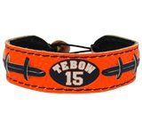 NFL Denver Broncos Tim Tebow Team Color Jersey Bracelet