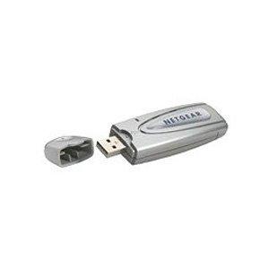 NETGEAR WG111 Wireless-G USB 2.0 Adapter - Adaptateur réseau - Hi-Speed USB - 802.11b, 802.11g