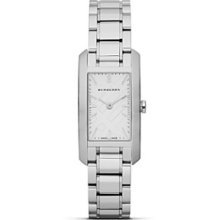 Burberry Heritage Silver Dial Stainless Steel Ladies Watch BU9500