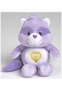 Care Bears Cousins Bright Heart Raccoon 8 plush beanie by Care Bears