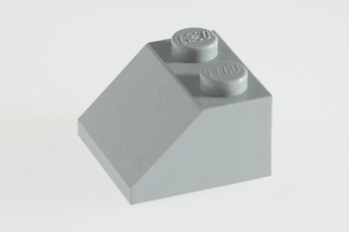 100x-lego-medium-stone-grey-light-grey-2x2-45-roof-tiles-super-pack
