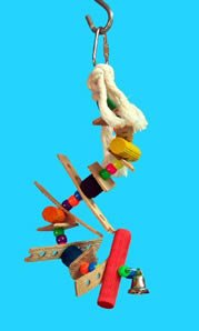 Zoo Max DUS69 The S 11in Bird Toy