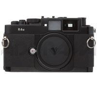 "Voigtlander Bessa R4M Wide Angle 35mm Rangefinder Manual Focus ""M"" Mount Camera Body with Mechanical Shutter - Black"