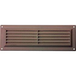 BROWN LOUVRE AIR VENT 229MM X 76MM (9