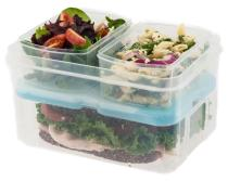 Lunch on the Go Resuable Container Set from Fit & Fresh
