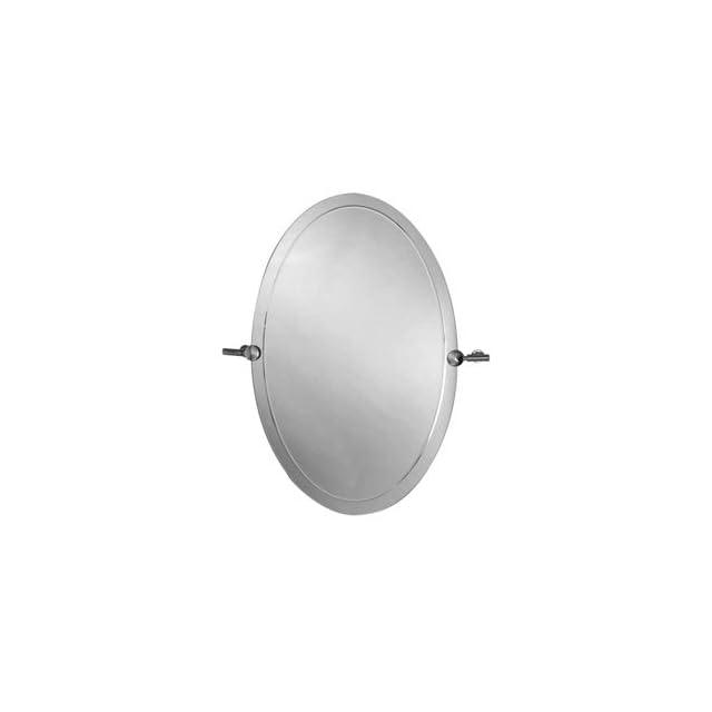 Aquabrass 4520PC Polished Chrome Bathroom Accessories 20 x 30 Oval