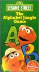 Sesame Street - The Alphabet Jungle Game [VHS]