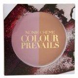 Nonie Creme Colour Prevails Bashful Biscuit Blush / Bronzer Duo, English Rose (Rose), .24 oz