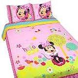 Disney Minnie Bowtique Garden Party Comforter, Full
