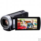 JVC GZ-E207BEK Compact Full HD Camcorder with 3in Screen - BLACK