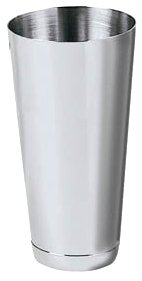 New 26 oz. (Ounce) Large Cocktail Shaker, Martini Shaker, Malt Milkshake Cup, Polished Stainless Steel, Commercial Grade