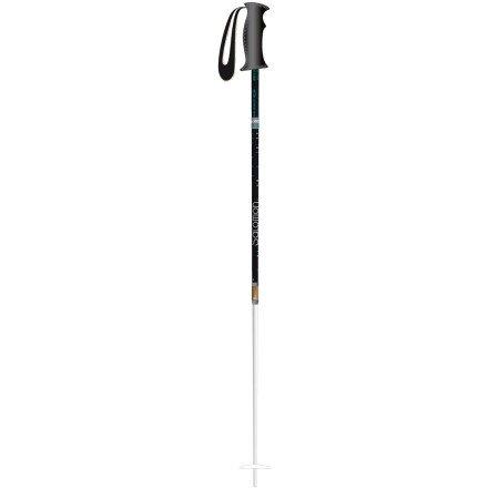 Salomon Origins Skiing Pole (White/Green, 110), Outdoor Stuffs
