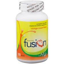 Bariatric Fusion Complete Chewable Multivitamin Orange Cream 120 Ct.