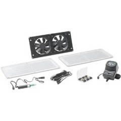 Cool Components VS-HFS-WHT HiFlo Vent System White Grills