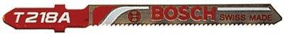 Bosch T218A 3-Inch, 24TPI, HSS Bosch Shank Jigsaw Blade, 5 Pack