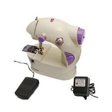 ASCENSION 4 in 1 Compact & Portable Sewing Machine Operated With Dual Power Free Adapter—