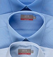 3 Pack Easy Care Plain Shirts