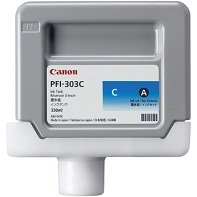 Canon Imageprograf IPF 825 MFP M 40 - Original Canon 2959B001 / PFI-303C - Cartouche d'encre Cyan - 330 ml