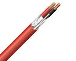 1 Reel 18 Awg 6C Solid Fire Alarm Cable Power Limited Fplr Article 760 Riser Overall Shielded - Red - 500Ft Reel (Reel Of 500 Feet)