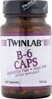 Twinlab - B-6 100Mg - 100 Caps