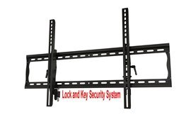 Tilting Tv Wall Mount That Locks To The Mount For Vizio M3D550Kde Led Hdtv **Key Locking Mechanism**