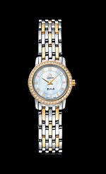 Omega Women's 4375.71 Mother-Of-Pearl Dial DeVille Prestige Watch