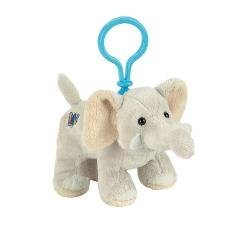 Webkinz Plush Kinz Klip Velvety Elephant - 1