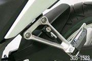 キジマ(Kijima) ヘルメットロック(車種別) ブラック HONDA:CBR250R(11Y)用 303-1523
