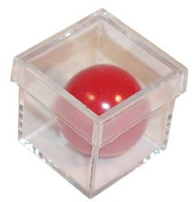 1 X Disintegration Chamber From Royal Magic - A Red Plastic Ball Simply Melts Away!