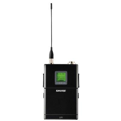 Shure UR1-G1 Bodypack Transmitter, Frequency G1/470-530MHz