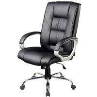 Sedia poltrona per ufficio presidenziale casa studio in for Amazon sedie ufficio