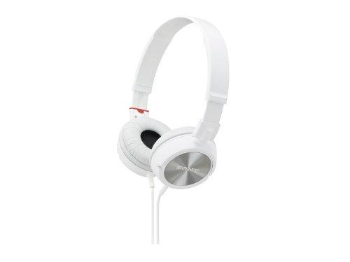 Sony Stereo Headphones Mdr-Zx300 White | Swivel Holding Overhead (Japan Import)