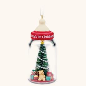Hallmark Keepsake Ornament - Baby's First Christmas 2008 (QXG6111)