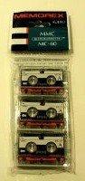 Memorex Micro Cassettes MMC MC-60 (Pack of 3)