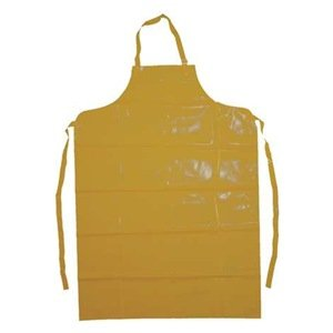 "Ansell Endurosaf 56-801 Enduro 2000 Apron, 35"" x 50"", Yellow (Pack of 1 Each)"