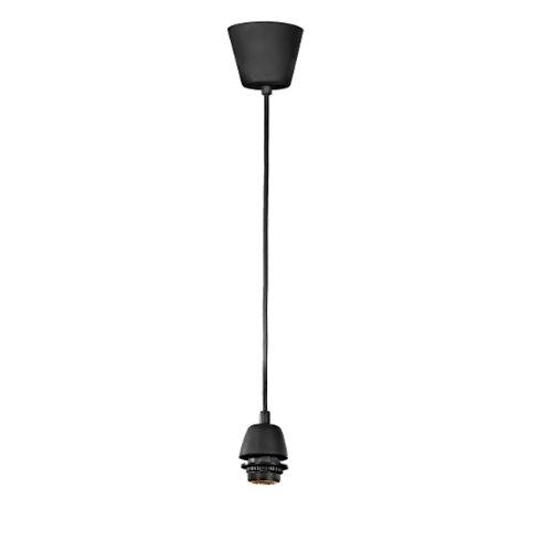 Pendel di ricambio per lampadari in plastica nero