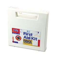 First Aid Only 225AN First Aid Kit for 50 People, 195 Pieces, OSHA/ANSI Compliant, Plastic Case 20pairs lot first aid supplies ecg defibrillation electrode patch for aed trainer use