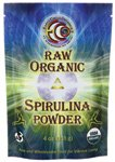 Raw Organic Spirulina Powder 4 oz Pkg