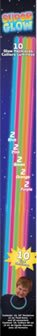 Amscan International Favor Glow Stick Necklace (Pack of 10) - 1