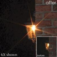 B + W 77mm 4X Cross Screen Glass Filter
