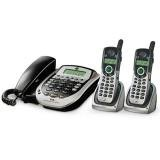 General Electric 25881EE3 5.8Ghz Corded-Cordless Phone Bundle With Answering Machine