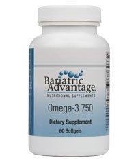 Bariatric Advantage - Omega-3 750, 60 Count (Bariatric Advantage Essential compare prices)
