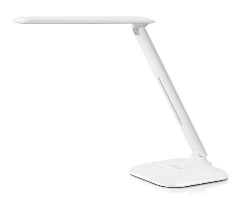 Saicoo® Natural Led Eye-Protection Multi-Function Desk Lamp - 3 Lighting Modes (Studying, Reading And Relaxation/Bedtime),With 5 Level Brightness Control For Each Mode, Including Wall Charger With 2 Usb Ports