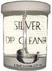 Jewelry Silver Dip Cleaner 8 oz.